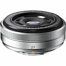 Fujifilm Fujinon XF27mm f/2.8 zilver