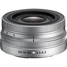 Nikon Nikkor Z DX 16-50mm f/3.5-6.3 VR zilver