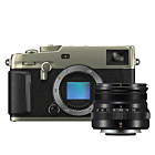 Fujifilm X-Pro3 Titan Dura zilver + XF 16mm f/2.8 R WR