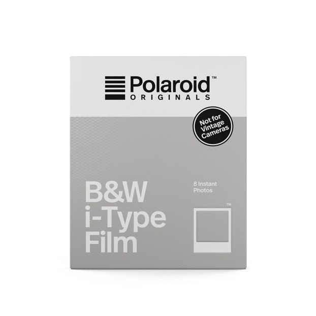 Polaroid Directklaarfilm zwart-wit - I-Type