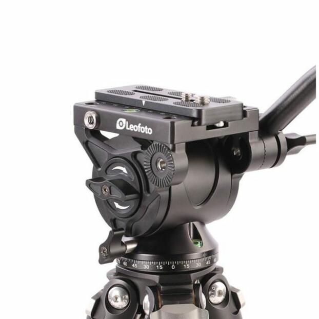 Leofoto BV-10M Fluid Video statiefkop