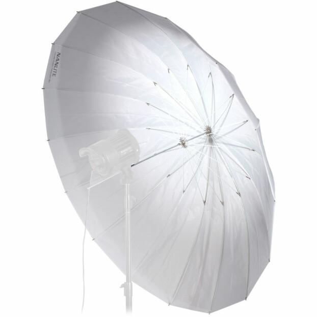 Nanlite Paraplu Shallow Translucent 180 cm