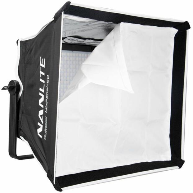 Nanlite Softbox voor Mixpanel 60 met Grid