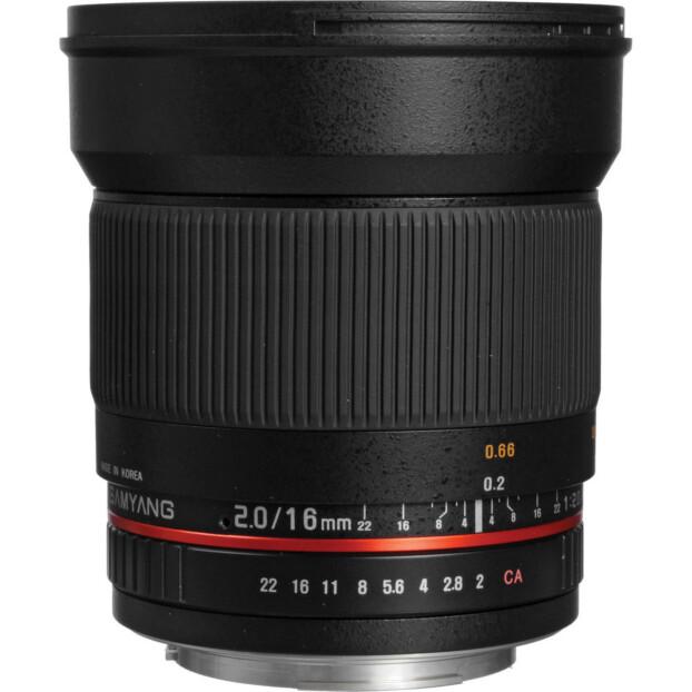 Samyang 16mm f/2.0 ED AS UMC CS | Canon EF-S