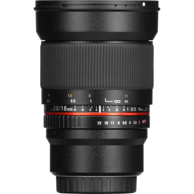 Samyang 16mm f/2.0 ED AS UMC CS | Canon EF-M