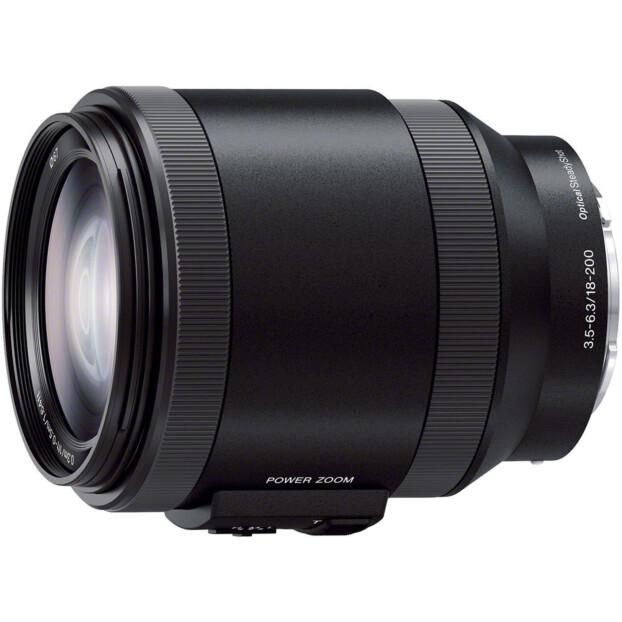Sony E 18-200mm f/3.5-6.3 G OSS PZ