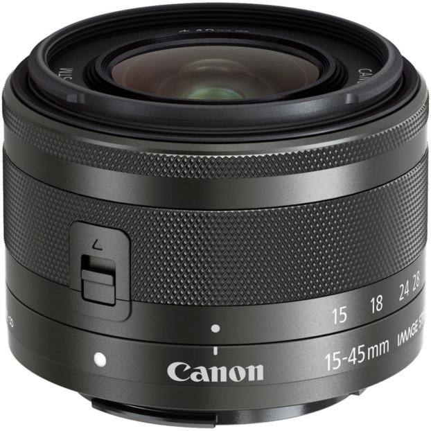 Canon EF-M 15-45mm F3.5-6,3 IS STM zwart