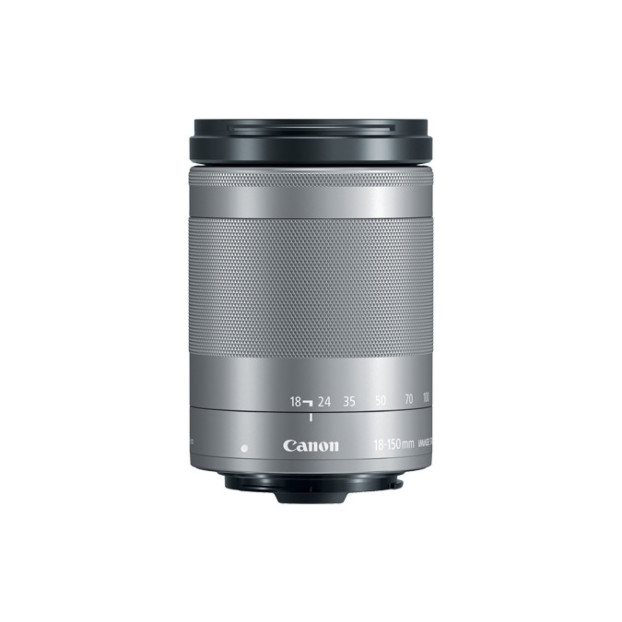 Canon EF-M 18-150mm f/4.5-6.3 IS STM zilver