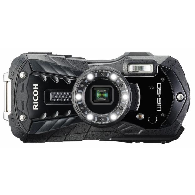 Ricoh WG-50 waterproof compactcamera zwart