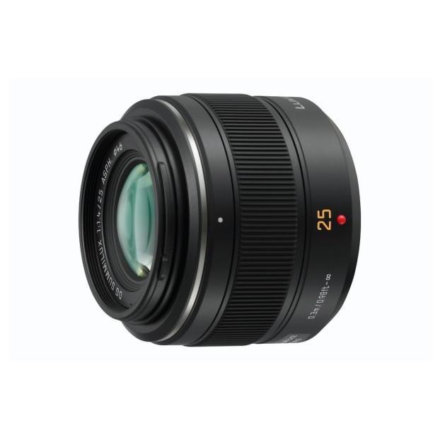 Panasonic Leica 25mm DG Summilux F1.4 ASPH. zwart