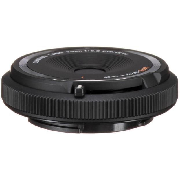 Olympus 9mm f/8.0 Fisheye Body Cap Lens