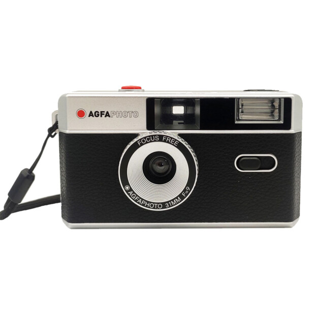 AgfaPhoto Reusable Analoge Camera | Zwart