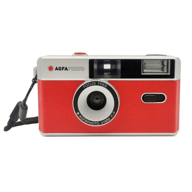 AgfaPhoto Reusable Analoge Camera | Rood