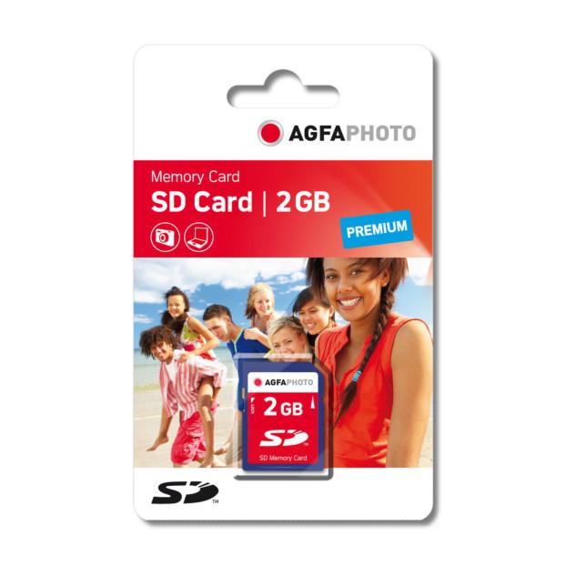 AgfaPhoto 2 GB SDHC-Card 133x Premium