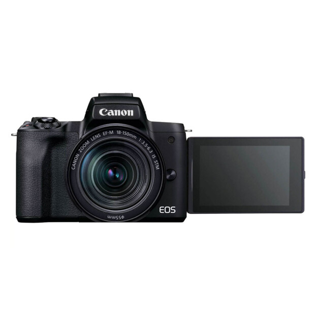 Canon EOS M50 Mark II zwart + 18-150mm f/3.5-6.3 IS STM