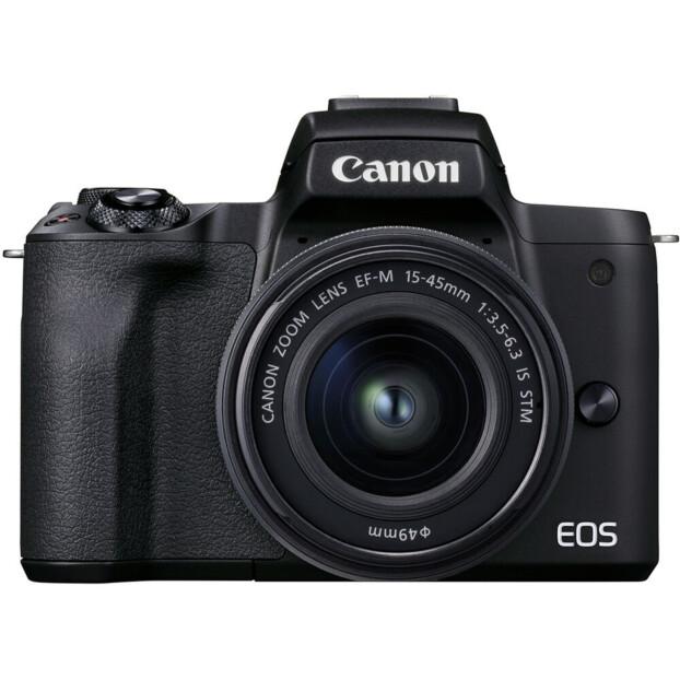 Canon EOS M50 Mark II zwart + 15-45mm f/3.5-6.3 IS STM