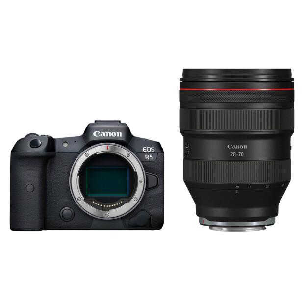 Canon EOS R5 + RF 28-70mm f/2.0 L USM