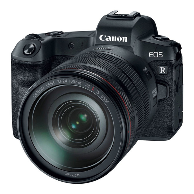 Canon EOS R + RF 24-105mm F4L IS USM + EF-ER Adapter
