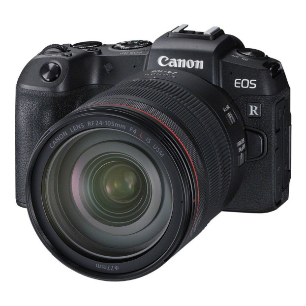 Canon EOS RP + RF 24-105mm F4L IS USM + EF-RF Adapter