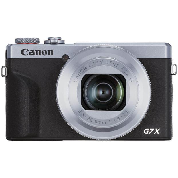 Canon G7X mark III zilver