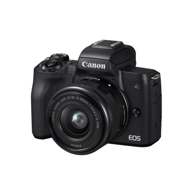 Canon EOS M50 zwart + EF-M 15-45mm F3.5-6,3 IS STM