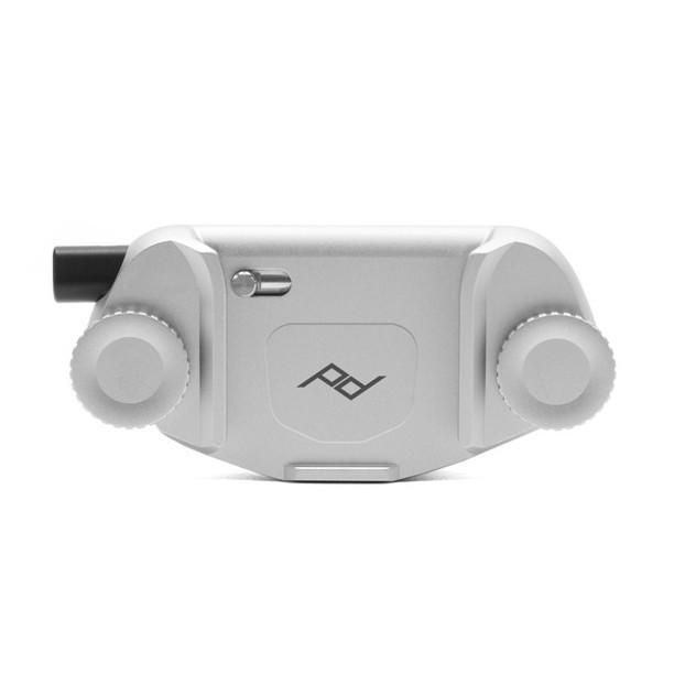 Peak Design Capture camera clip V3 zilver - zonder plaat