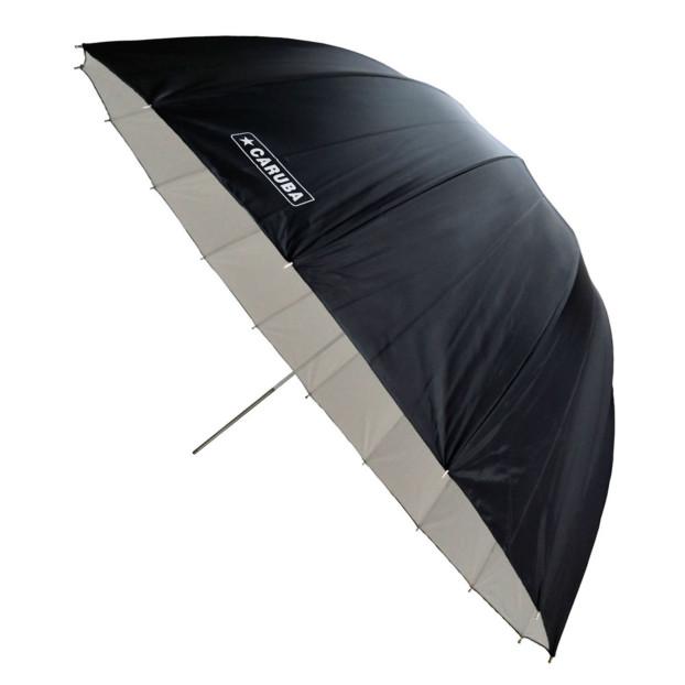 Caruba Flitsparaplu Parabolic 165cm, deep white / black
