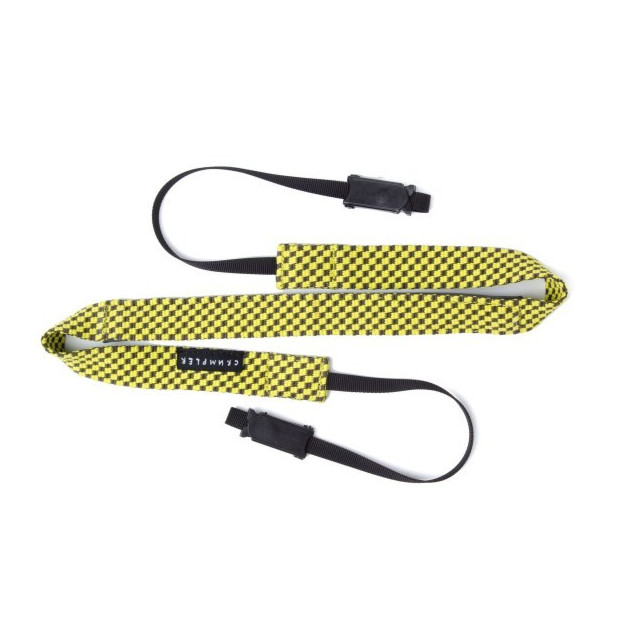 Crumpler Check Strap (cameo grey/lemon yellow)