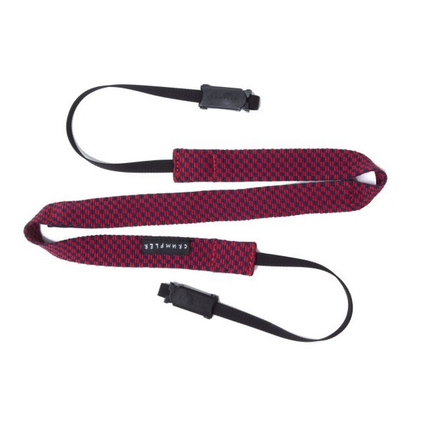 Crumpler Check Strap (dark navy/deep red)