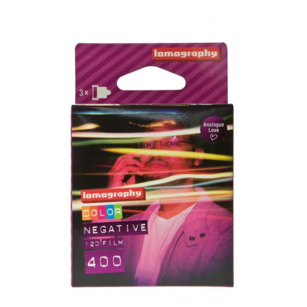 Lomography Color Negative 400 120 1 stuk