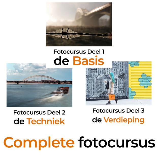 Fotocursus Compleet | 9 lessen