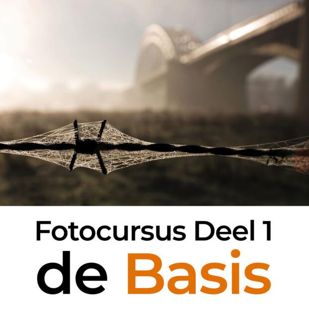 Fotocursus deel 1: Basis | 3 lessen