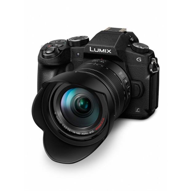 Panasonic LUMIX DMC-G80 zwart + 14-140mm F3.5-5.6 ASPH.
