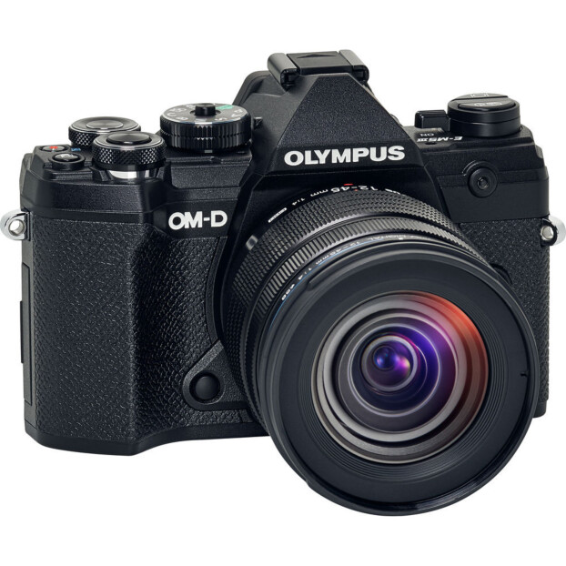 Olympus OM-D E-M5 mark III zwart + 12-45mm f/4.0 Pro
