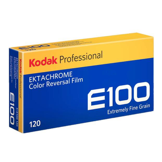 Kodak Ektachrome E100 120 5-pak