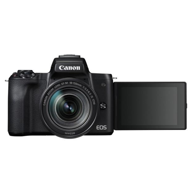 Canon EOS M50 zwart + EF-M 18-150mm F4.5-6.3 IS STM