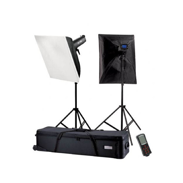 Falcon Eyes Studioflitsset TFK-2600L met LCD-scherm
