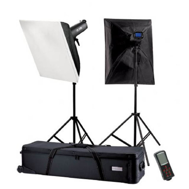 Falcon Eyes Studioflitsset TFK-2900L met LCD-scherm