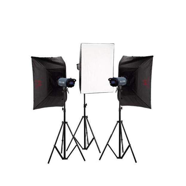 Falcon Eyes Studioflitsset TFK-3600L met LCD-scherm