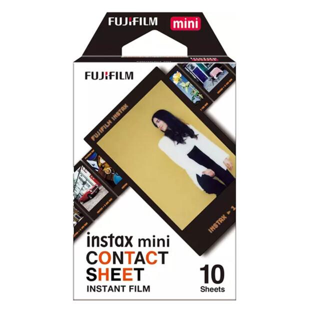 Fuji Instax Mini Contact Sheet Film | 10 foto's