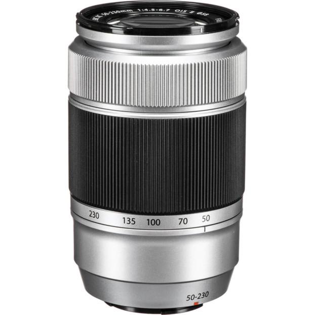 Fujifilm Fujinon XC50-230mm F4.5-6.7 OIS II zilver