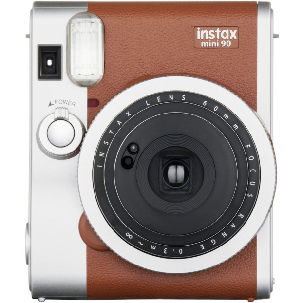 Fujifilm Instax Mini 90 Neo Classic camera bruin, incl. accu