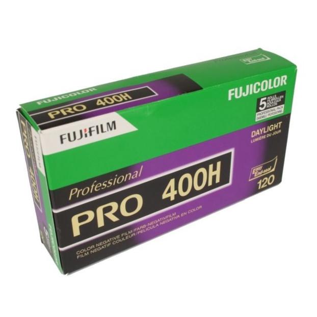 Fujifilm Pro 400 H 120 5-Pak