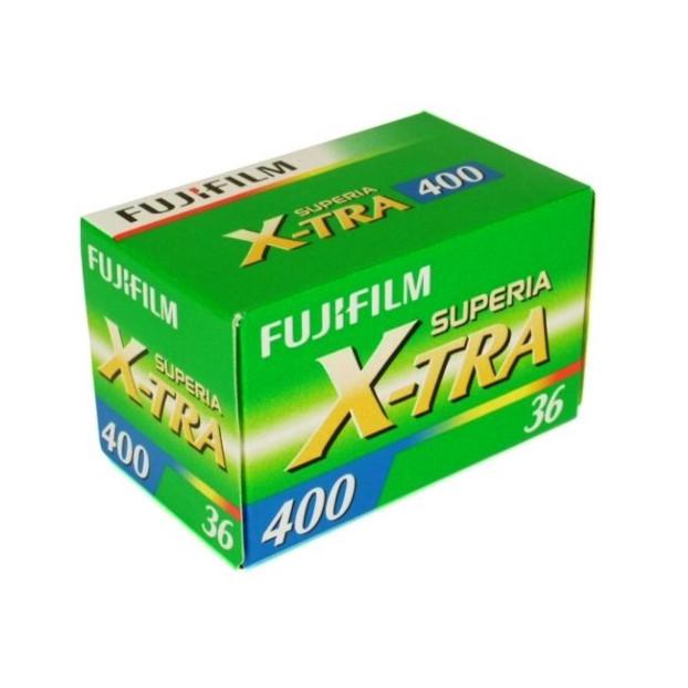 Fujifilm Superia X-TRA 400 135-36