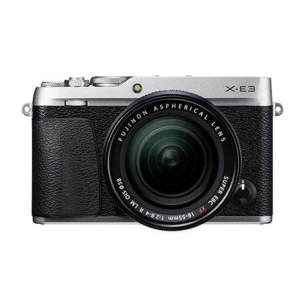 Fujifilm X-E3 zilver + XF 18-55mm F2.8-4.0 R LM OIS