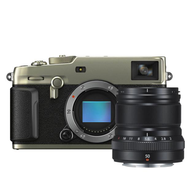 Fujifilm X-Pro3 Titan Dura zilver + XF 50mm f/2.0 R WR