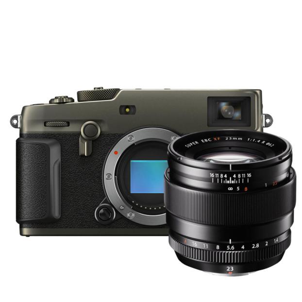 Fujifilm X-Pro3 Titan Dura zwart + XF 23mm f/1.4 R