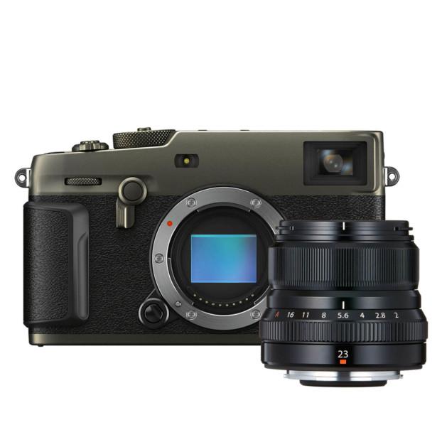 Fujifilm X-Pro3 Titan Dura zwart + XF 23mm f/2.0 R WR