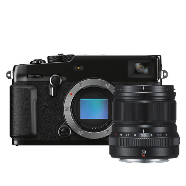 Fujifilm X-Pro3 Titan zwart + XF 50mm f/2.0 R WR