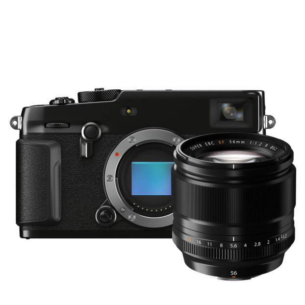 Fujifilm X-Pro3 Titan zwart + XF 56mm f/1.2 R